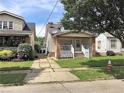 Single Family Home Sold: 12512 Marne Ave