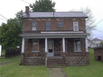 Guernsey County Single Family Home For Sale: 411 South 12th St