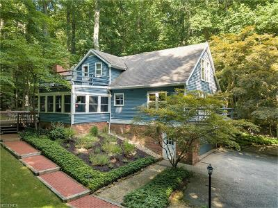 Gates Mills Single Family Home For Sale: 7459 Brigham Rd
