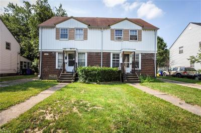 Cleveland Single Family Home For Sale: 12609 Astor Ave