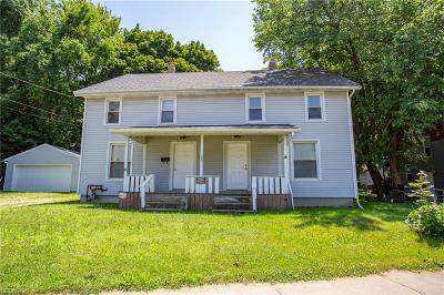 Painesville Single Family Home For Sale: 115 West Jackson St
