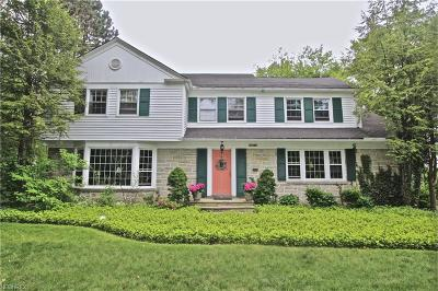 Shaker Heights Single Family Home For Sale: 21350 Fairmount Blvd