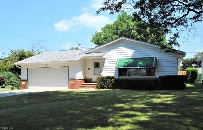 Lyndhurst Single Family Home For Sale: 1091 Haverston Rd