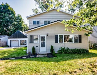 Willoughby Single Family Home For Sale: 1005 Hayes Ave
