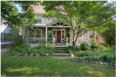 Cleveland Heights Single Family Home For Sale: 2943 East Overlook Rd