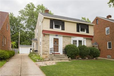 Cleveland OH Single Family Home For Sale: $159,000