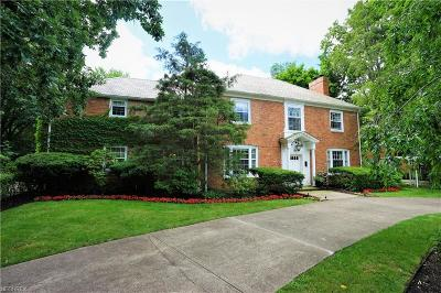 Shaker Heights Single Family Home For Sale: 19140 Fairmount Blvd