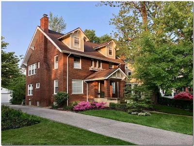 Cleveland Heights Single Family Home For Sale: 3024 East Overlook Rd