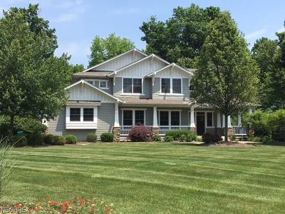 Chagrin Falls Single Family Home For Sale: 17355 Lookout Dr