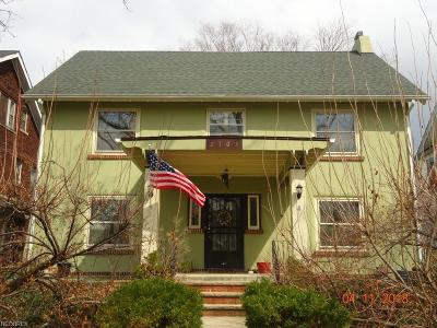 Cleveland Single Family Home For Sale: 2103 West Blvd