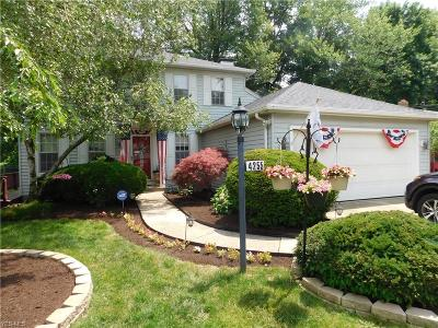 North Olmsted Single Family Home For Sale: 4255 Brendan Ln