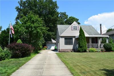 Wickliffe Single Family Home For Sale: 1805 East 300th St
