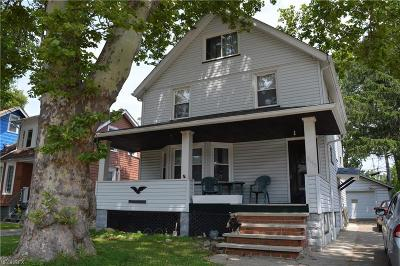 Cuyahoga County Single Family Home For Sale: 1153 East 168th St