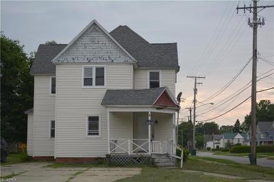 Ashtabula County Multi Family Home For Sale: 419 Jackson St