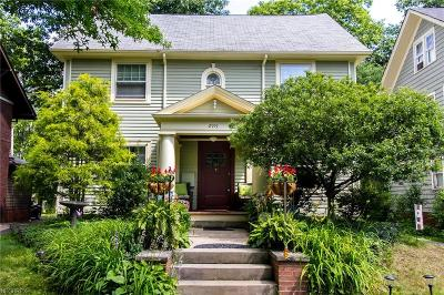 Cleveland Heights Single Family Home For Sale: 2915 Edgehill Rd