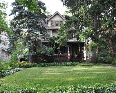 Cleveland Heights Single Family Home For Sale: 3407 East Monmouth Rd