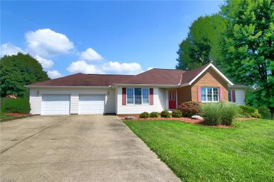 Dresden Single Family Home For Sale: 3585 Maplecraft Dr