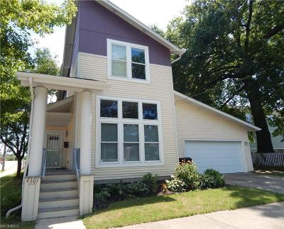 Single Family Home For Sale: 4101 Bailey Ave