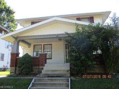 Guernsey County Single Family Home For Sale: 804 North 12th Street