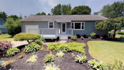 Painesville OH Single Family Home For Sale: $179,900