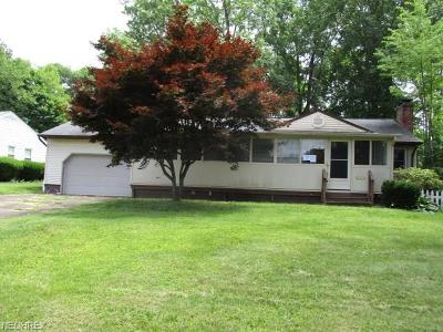 Youngstown Single Family Home For Sale: 2451 Rosewae Dr