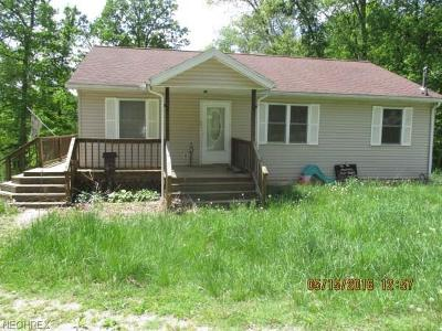 Guernsey County Single Family Home For Sale: 76541 Zion Rd