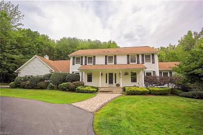 Gates Mills Single Family Home For Sale: 7165 Settlers Ridge Rd