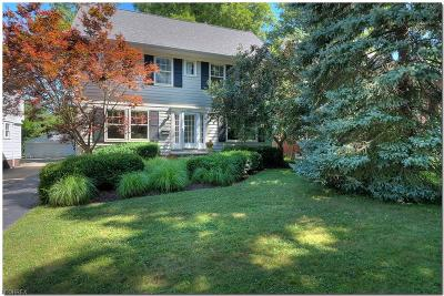 Cleveland Heights Single Family Home For Sale: 2873 Scarborough Rd