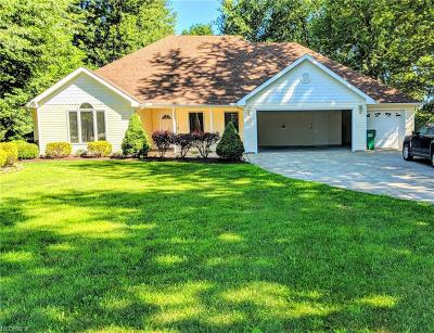 Perry Single Family Home For Sale: 5121 Middle Ridge Rd