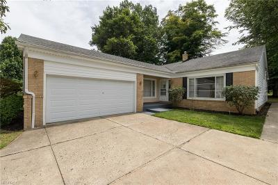 Richmond Heights Single Family Home For Sale: 4788 Geraldine Rd