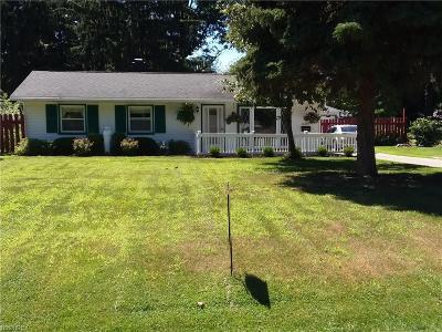 Mentor Single Family Home For Sale: 6386 Southgrove Rd