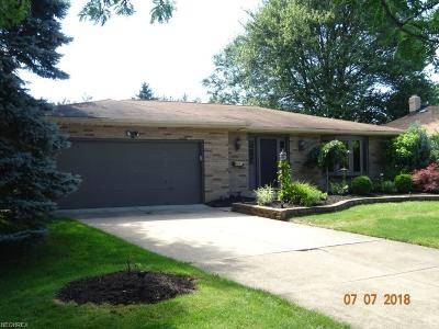 Middleburg Heights Single Family Home For Sale: 7370 Grant Blvd