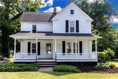 Willoughby Single Family Home For Sale: 3994 Kirtland Rd