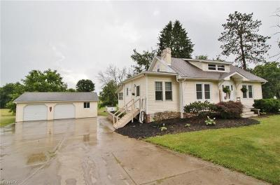 Muskingum County Single Family Home For Sale: 3290 Adamsville Rd