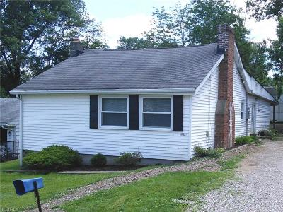Geauga County Single Family Home For Sale: 14795 Briarwood Ave