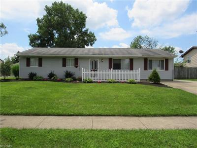 Elyria Single Family Home For Sale: 475 Carol Ln