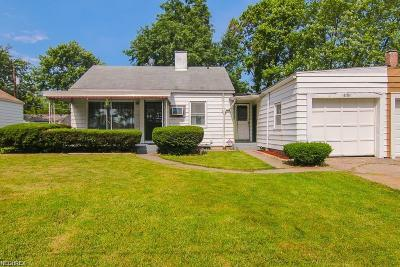 Single Family Home For Sale: 4124 West 143rd St