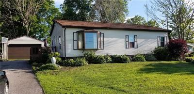 Ashtabula County Single Family Home For Sale: 4112 Creek Rd