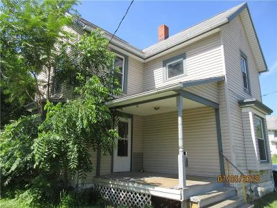 Ashland County Single Family Home For Sale: 15 West 10th St