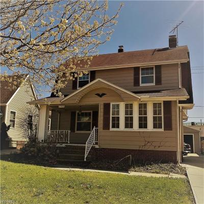 Cleveland OH Single Family Home For Sale: $129,500