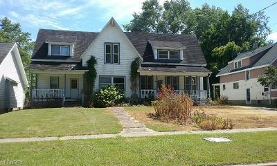 Ashtabula County Multi Family Home For Sale: 165 West Main St