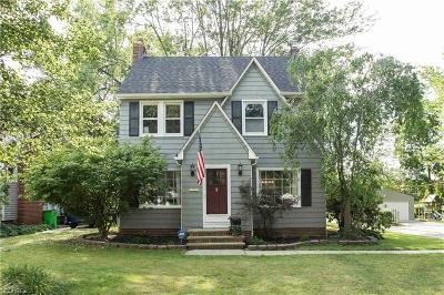 South Euclid Single Family Home For Sale: 1352 Plainfield Rd
