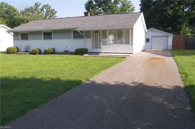 Mentor-On-The-Lake Single Family Home For Sale: 7499 Manor Dr