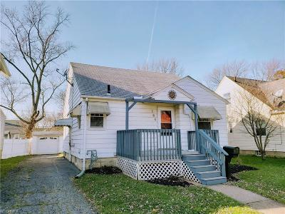 Elyria Single Family Home For Sale: 166 Brandtson Ave