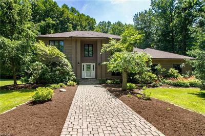 Gates Mills Single Family Home For Sale: 7800 Blackberry Ln