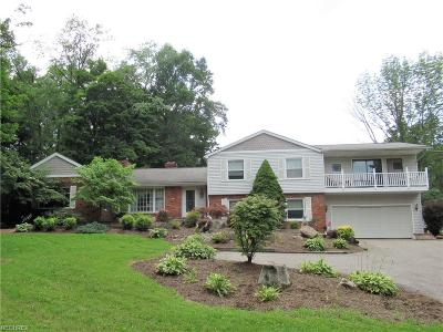 Geauga County Single Family Home For Sale: 12662 Aquilla Rd