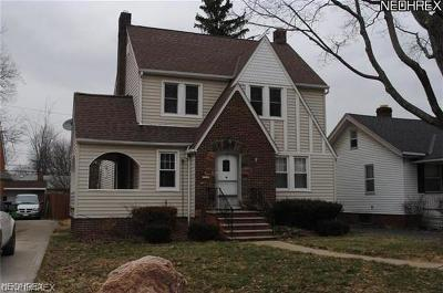 South Euclid Single Family Home For Sale: 4421 Adrian Rd