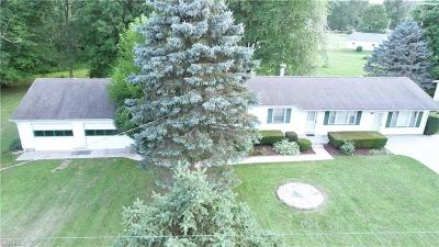 Newton Falls Single Family Home For Sale: 4897 Fairport Rd