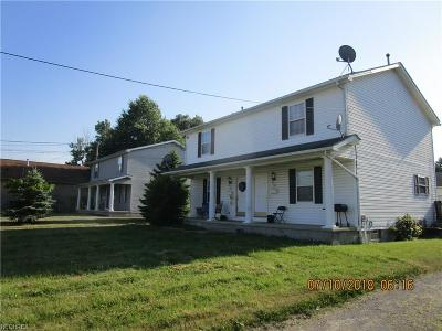 Youngstown Multi Family Home For Sale: 50 North Kimberly Ave