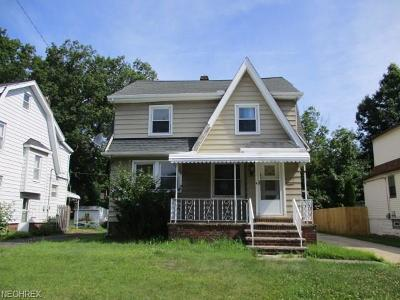 South Euclid Single Family Home For Sale: 4395 Elmwood Rd
